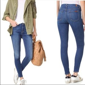 7 For All Mankind Blue Skinny Jeans (61)